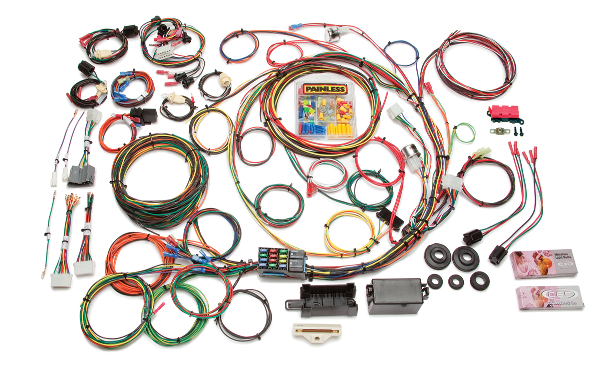 21 Circuit Direct Fit 1967-77 F-Series Ford Truck Harness w/o Switches |  Painless PerformancePainless Wiring