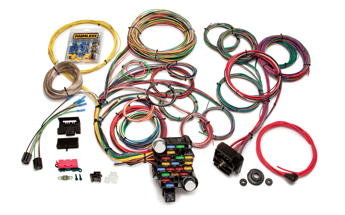 28 circuit classic plus customizable muscle car harness Painless Wiring Manual