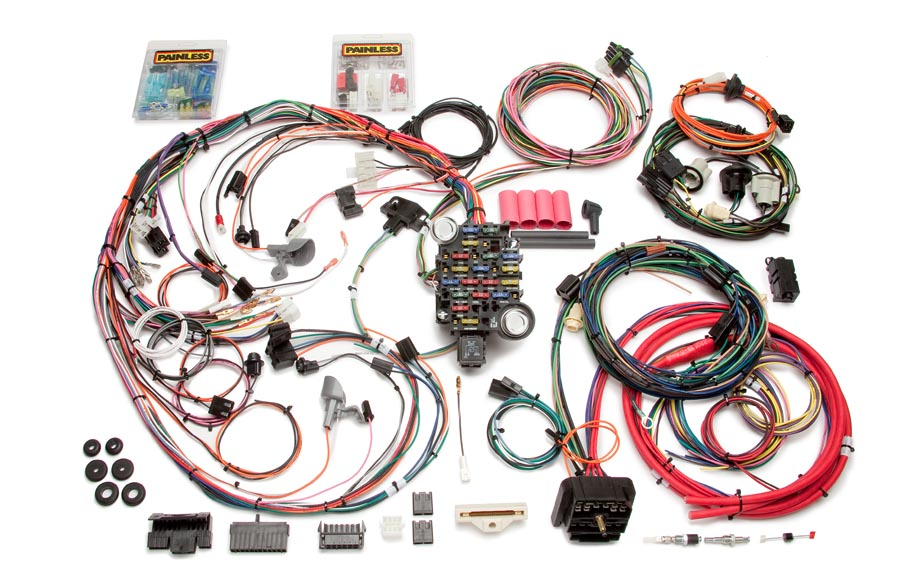 26 circuit direct fit 1970-73 camaro harness | painless performance  painless wiring