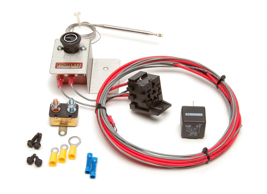 Single Electric Cooling Fan Dual Relay Kit We Make Wiring That Easy on