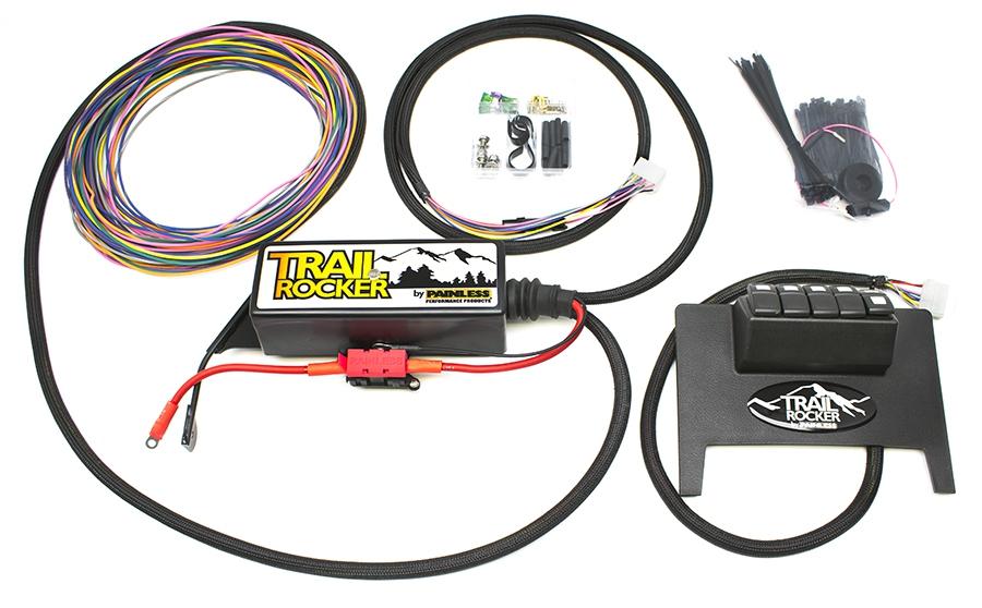 2011-2018 Jeep Wrangler JK Trail Rocker Accessory Control System (Black  Dash) | Painless PerformancePainless Wiring