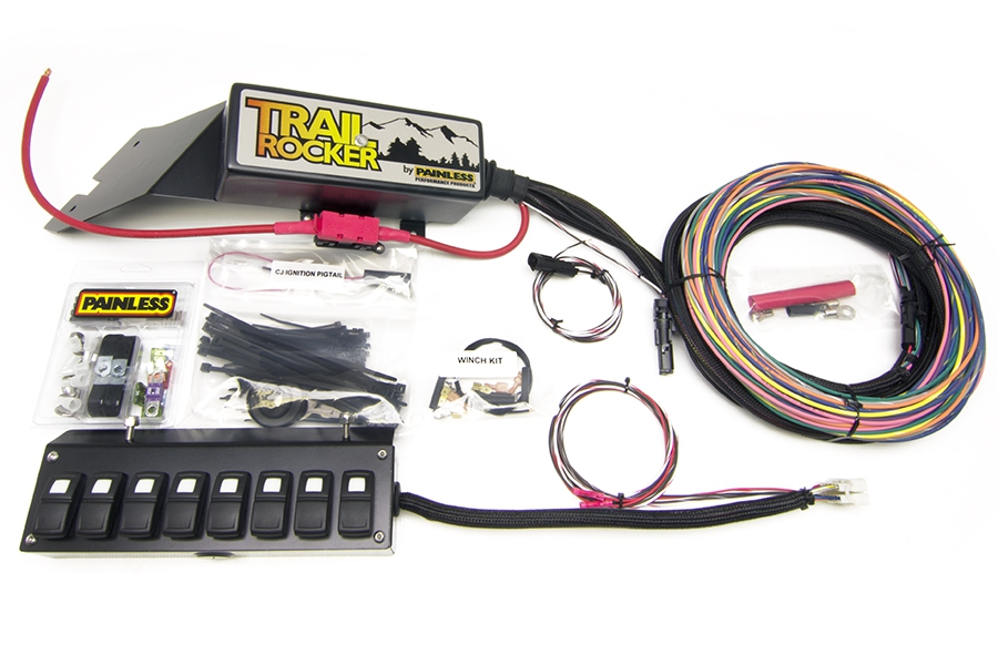 Painless Wiring For Jeep Cj - Wiring Diagram Project on