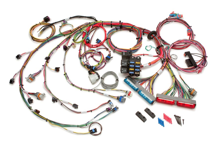 1999-2006 GM Gen III 4.8/5.3/6.0L EFI Harness - Mechanical TB By Painless Performance