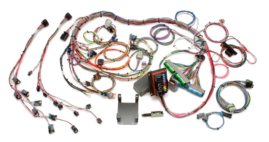 1999-2006 GM Gen III 4.8/5.3/6.0L EFI Harness - Throttle by Wire By Painless Performance